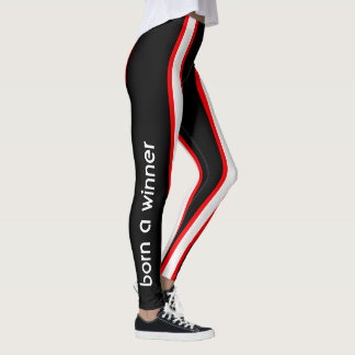 Track and Field Aerobic Workout Leggings