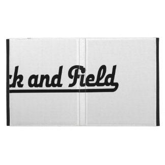 TRACK and field iPad Folio Cover