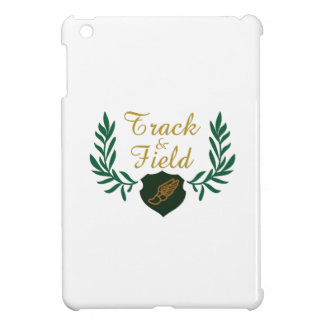 TRACK AND FIELD CREST COVER FOR THE iPad MINI