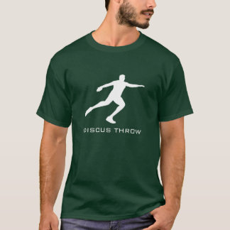 Track and Field Discus Throw T-Shirt