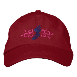 Track and Field Embroidered Cap
