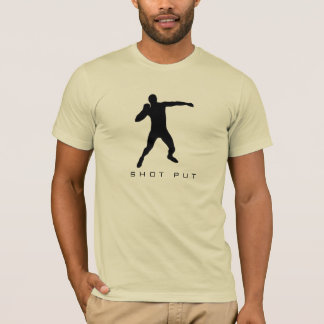 Track and Field Men's Shot Put T-Shirt