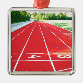 Track and Field - Runner Print Christmas Ornament