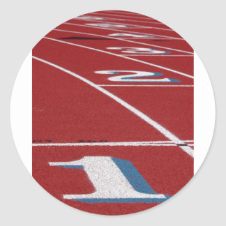 Track And Field Sticker