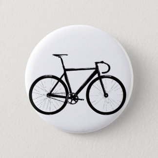 Track Bike 6 Cm Round Badge
