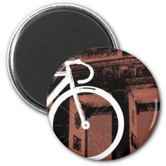 Track Bike Berlin Bronze Magnets