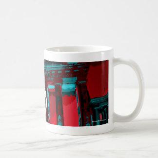 Track Bike Berlin - red blue Mug