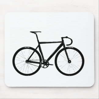 Track Bike Mouse Mat