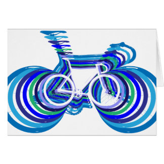 Track Bike sc Cards