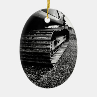 Track Christmas Ornament