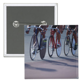 Track cycling 15 cm square badge