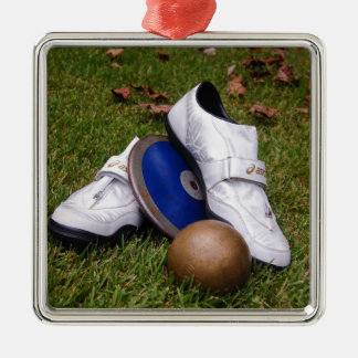 Track & Field Christmas Ornament