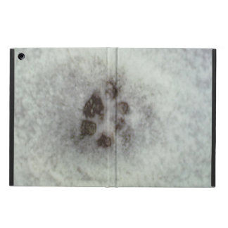 track in the snow iPad air cases