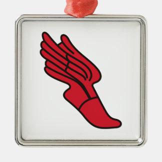 Track Logo Christmas Ornament