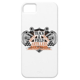 track n field artillery iPhone 5 cover
