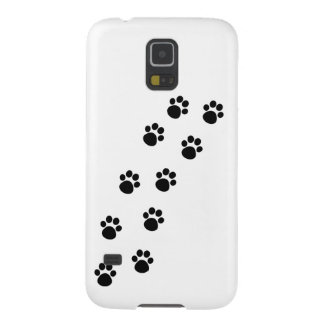 Track of Cat Paw Marks Galaxy S5 Cover