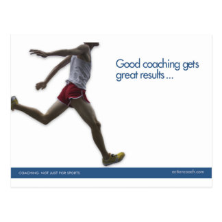 Track Sports Postcard