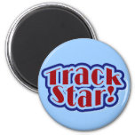 Track Star Tshirts and Gifts Refrigerator Magnet