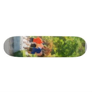 Track Team Custom Skate Board