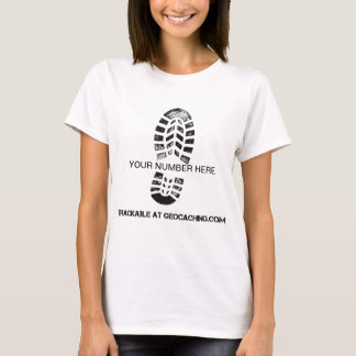 Trackable Boot Print T-Shirt