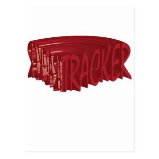 Tracker rock Rocker club Band Postcard