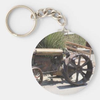 Tracker Truckin Basic Round Button Key Ring