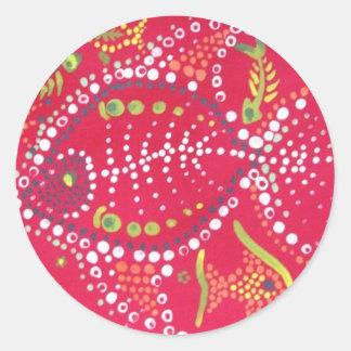 Tracker Unleashed Round Sticker