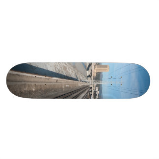tracks in the distance skateboard deck