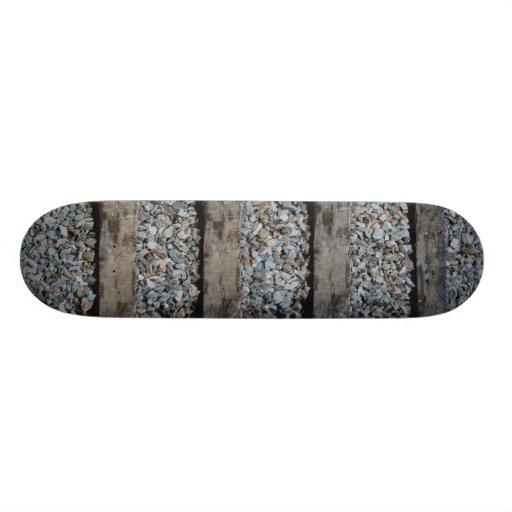 'TRACKS' (NATURAL) skateboard