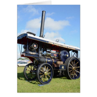 Traction Engine Renown Greeting Card