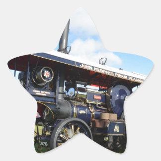 Traction Engine Renown Star Sticker
