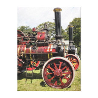 TRACTION ENGINES GALLERY WRAPPED CANVAS