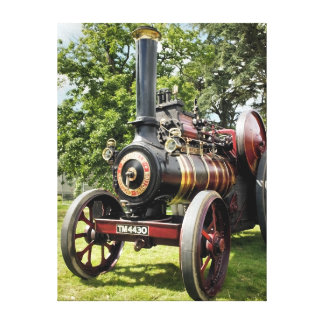 TRACTION ENGINES CANVAS PRINT