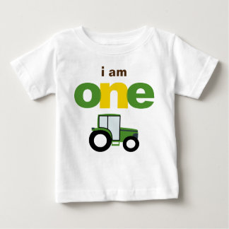Tractor 1st Birthday T-shirt Toddler Baby Kid