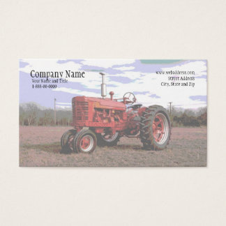 Tractor Business Card