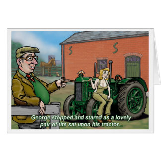 Tractor Card Uncle George