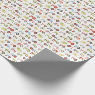 Tractor Design Wrapping Paper