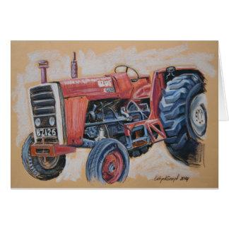 Tractor Ferguson BZ126 Card
