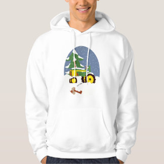 Tractor for Winter Hooded Pullovers