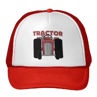 Tractor Gift For Kids Mesh Hats