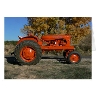 Tractor~ Greeting Card