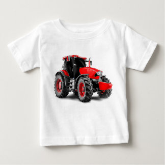 Tractor image for Baby-Fine-Jersey-T-Shirt-White Baby T-Shirt