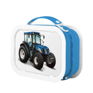 Tractor image for Yubo Lunchbox, Blue Lunchboxes