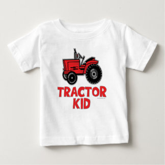 Tractor Kid Baby T-Shirt