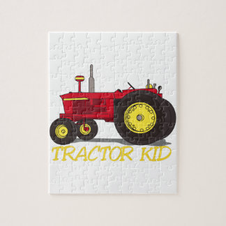 Tractor Kid Jigsaw Puzzle