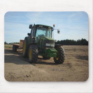 tractor mouse mat