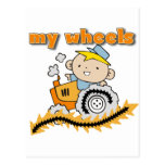 Tractor My Wheels Tshirts and Gifts Post Cards