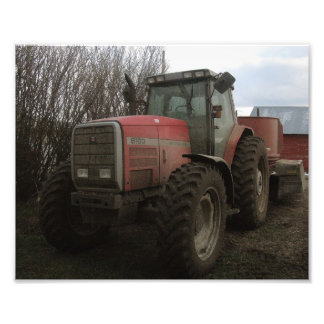 Tractor on the Farm Photo Art