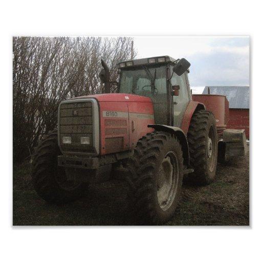 Tractor on the Farm Photo Art