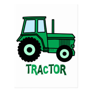Tractor Postcard